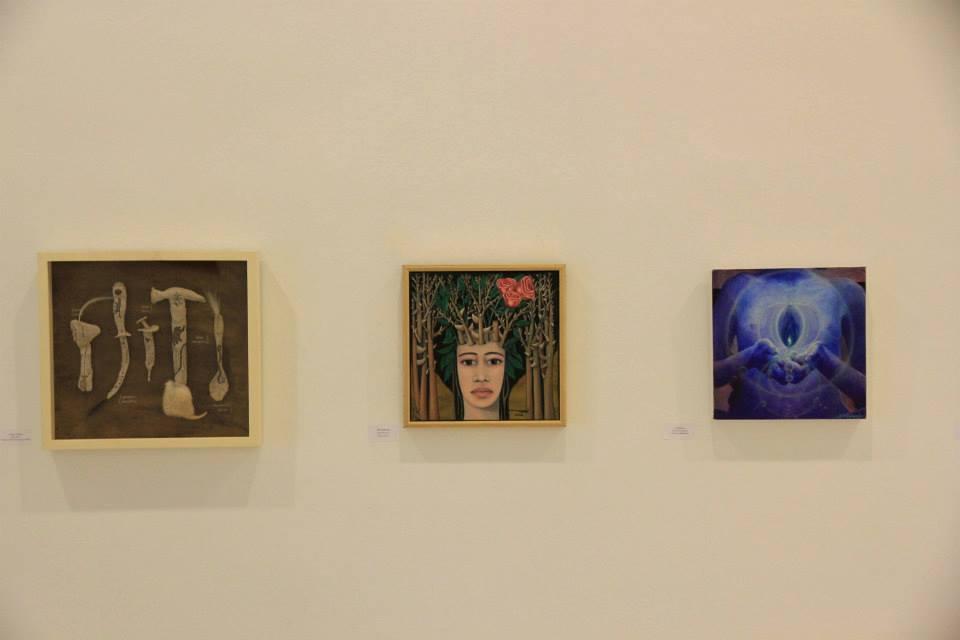 D&D, Santa Fe, Spanien. Elisa Keir, Vesna Krasnec und Donna Raymond. 2013